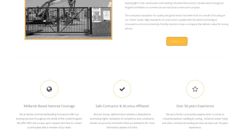 Senbar Website